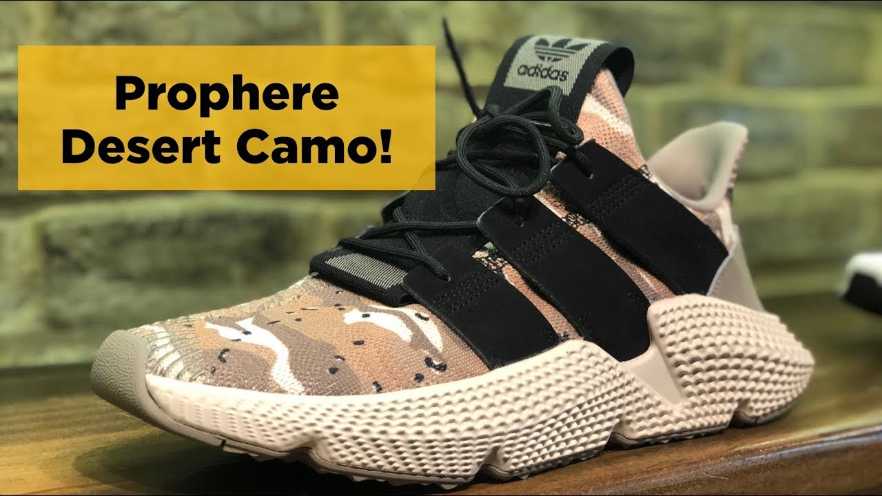 Unboxing the Best Uncomfortable Sneaker  adidas Prophere (Desert Camo) 6de2184bfd60