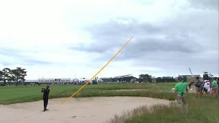 Jimmy Walker Eagle on the 4th Hole - 2018 U.S. Open - Round 2