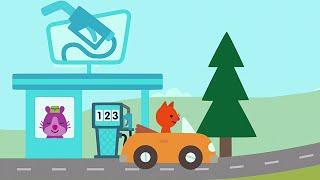 Sago Mini App - Auf weiten Wegen | Auto Spiel für Kleinkinder, iPad iPhone