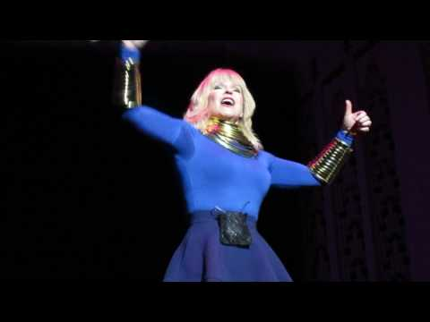 Toyah I Want To Be Free 19th March 2017 Liverpool Philharmonic 80's Invasion Tour MVI 9538