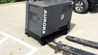 Aurora 4 kW diesel generator - Perkins 402D-05g