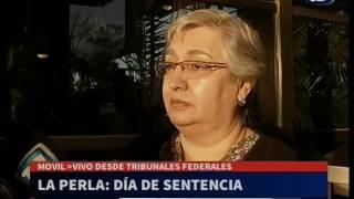 Móvil desde Tribunales Federales - Ana Gómez, familiar de desaparecidos