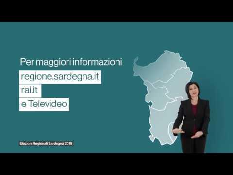Elezioni Regionali Sardegna 2019 Come Si Vota Youtube