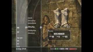 Bug Skyrim coffre caché et armure à l'infini !