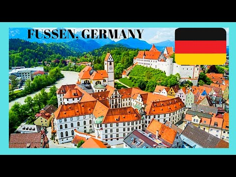 FÜSSEN, the perfect MEDIEVAL TOWN in GERMANY, what to see, top attractions