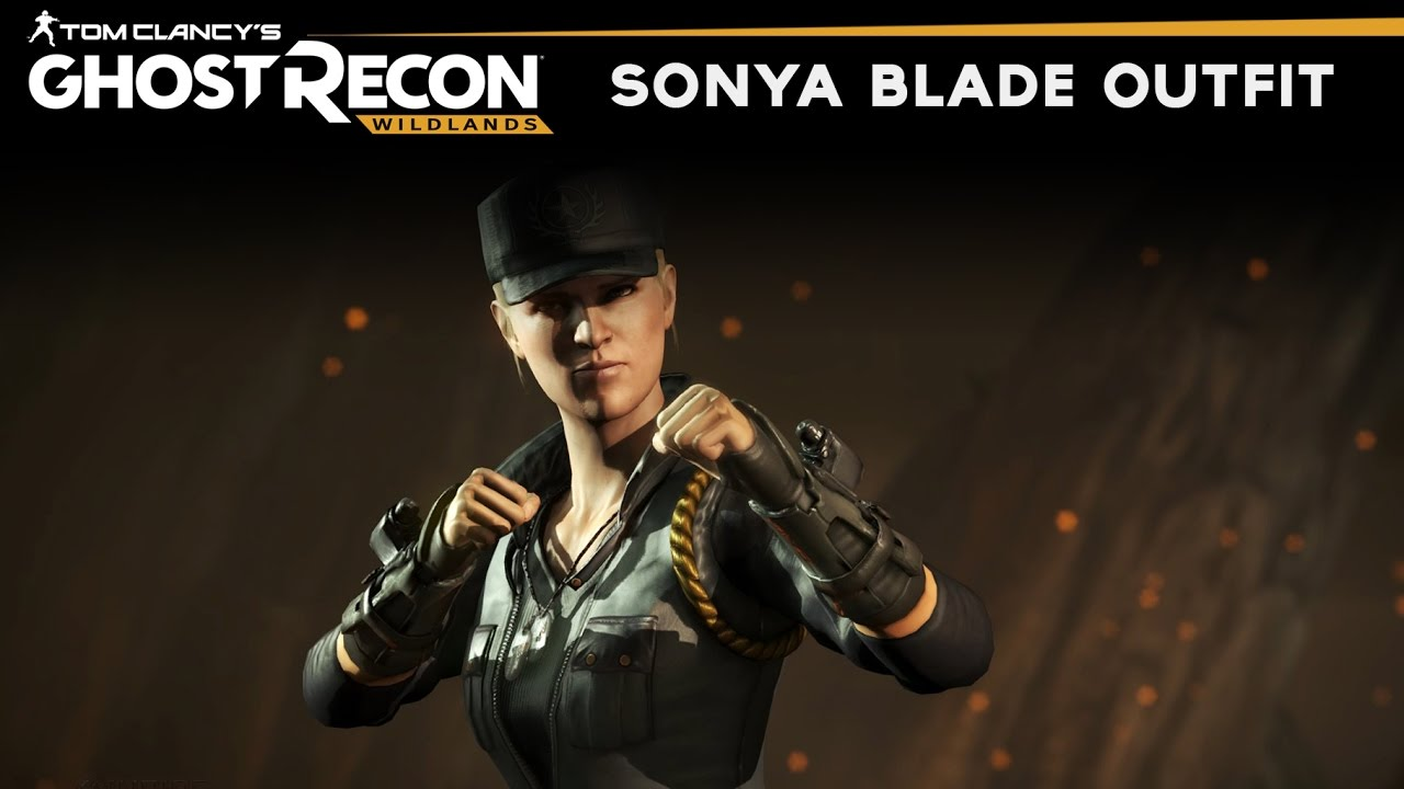 Ghost Recon Wildlands How To Make Sonya Blade Outfit Mortal Kombat Sonya Blade Skin