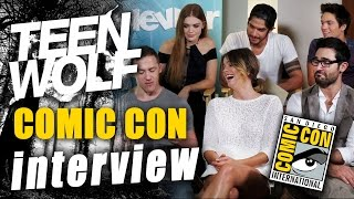 Teen Wolf Cast Spills Season 4 Secrets - Comic-Con 2014