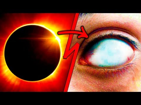 NO Veas el Eclipse de Hoy! - Este Hombre lo Hizo - Alerta!  El Eclipse Solar del 21 de Agosto