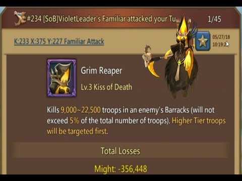 Lords Mobile - Highlights KVK End May & Attacked By Familiar - Trap Series