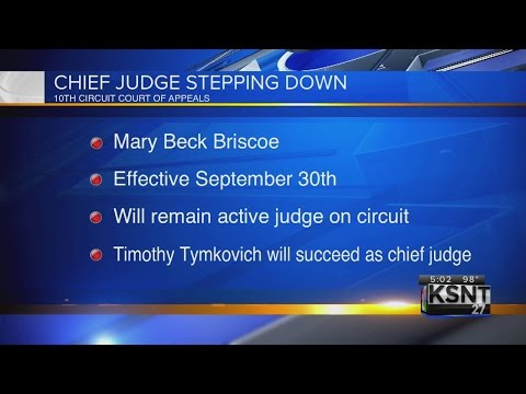 Chief Judge of the 10th Circuit Court of Appeals says she is leaving