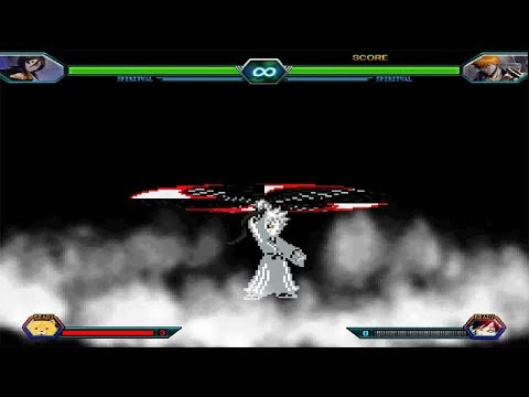Bleach Vs Naruto 3.3 - All Transformations