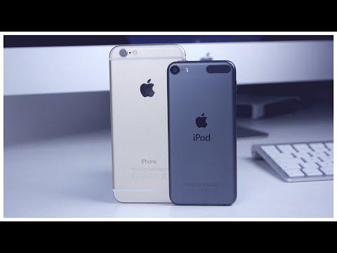 Apple iPhone 6 vs Apple iPod Touch 6G deutsch