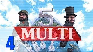 Cold War Competition! [4] Tres Presidentes Tropico 5 Multiplayer Gameplay