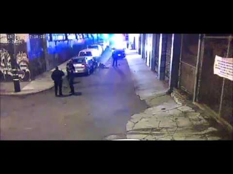 (WARNING GRAPHIC POLICE VIOLENCE) Alameda County Sheriff's Deputies brutal beating caught on video