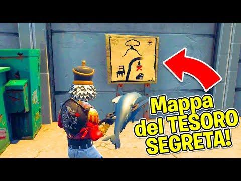 Fortnite ITA - LA NUOVA MAPPA DEL TESORO SEGRETA!!