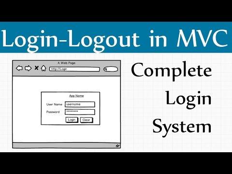 How to Create Mvc Login Page in C# Asp.net Mvc