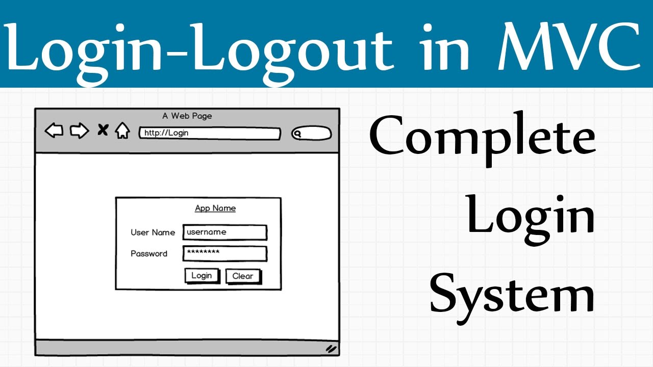 How to Create Mvc Login Page in C# Asp net Mvc