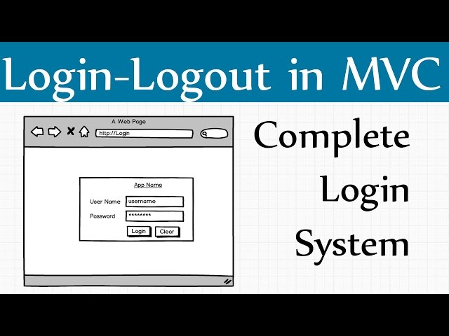 How to Create Mvc Login Page in C# Asp net Mvc - Agence Web