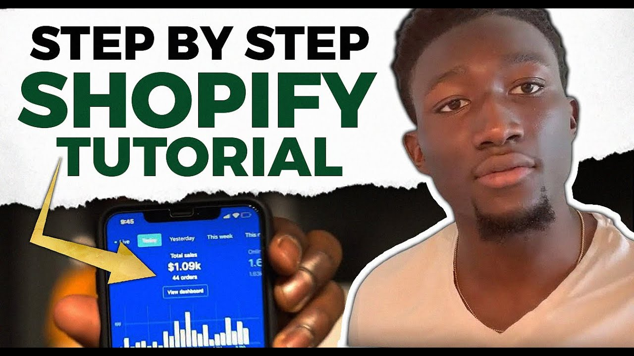Shopify Tutorial For BEGINNERS 2019 | Step 1 How To Open Your Shopify Store