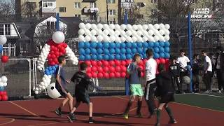Новые спортивные площадки в школах Кисловодска