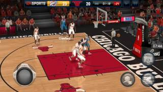 NBA Live Mobile EP2 (Jamal Crawford isn't lit)
