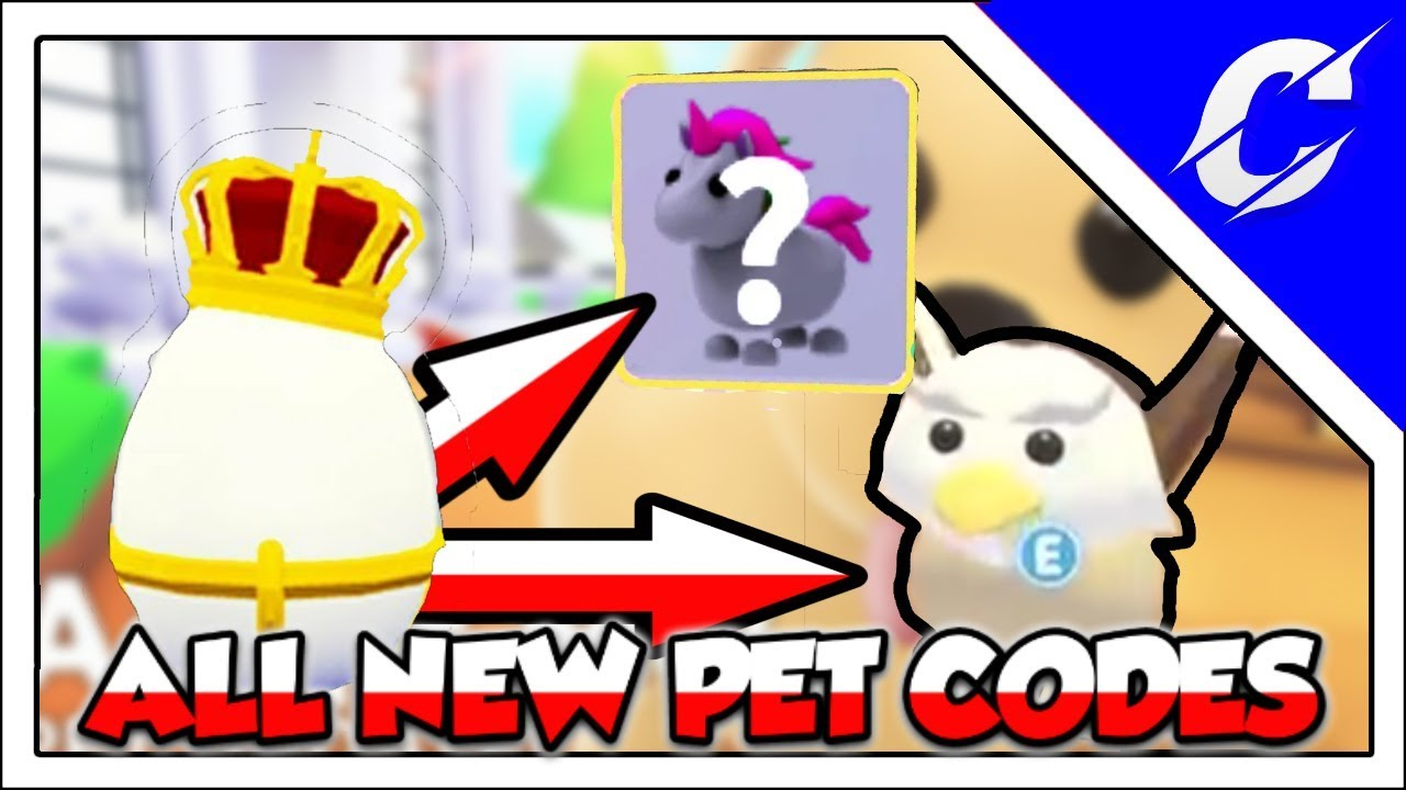 All New Pet Codes | Griffin & Unicorn | Adopt Me Pet ...