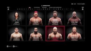 Triple H SuperStar Threads Attire Showcase WWE 2K19