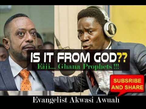 SATANIC CHURCHES BY EVANGELIST AKWASI AWUAH  - 1ST SUNDAY 2019