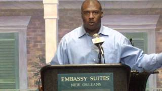 LSU Associate Athletic Director Verge Ausberry (NO QB Club)