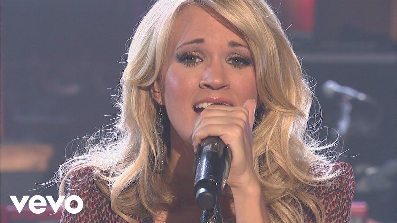 Download Carrie Underwood - Jesus Take The Wheel (Walmart Soundcheck 2009)