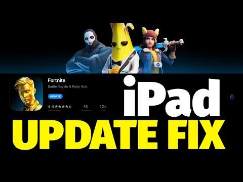 Fortnite Update FIX On IPad, IPad Mini, IPad Air, IPad Pro | Fortnite Battle Royale App