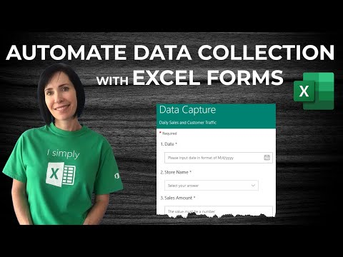 Easy Excel Forms - No VBA & access from any device!