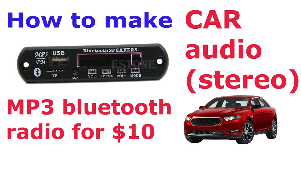 how to add bluetooth to car stereo