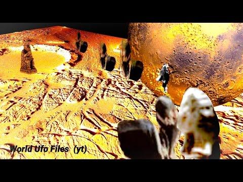 NASA 10 species of Alien Life on Planet Mars little humanoid's on Mars