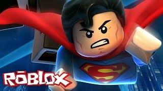 I TURNED the SUPER MAN into the ROBLOX