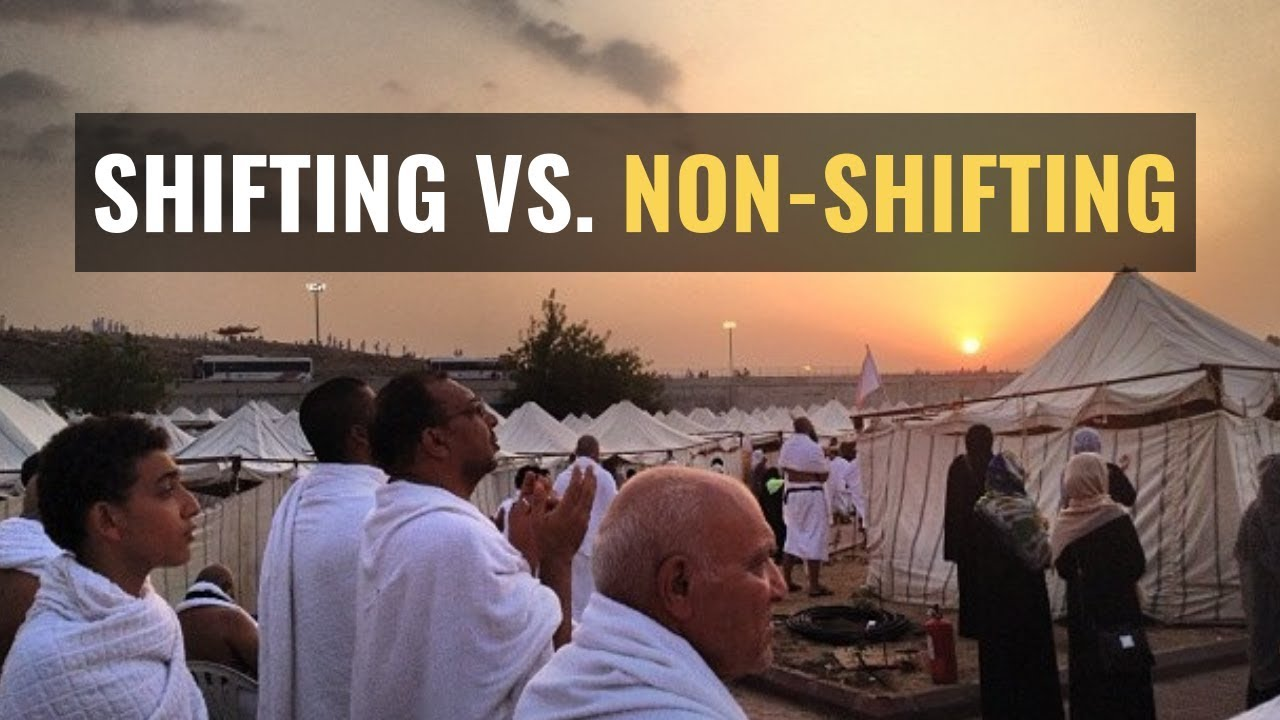 shifting vs non shifting hajj package
