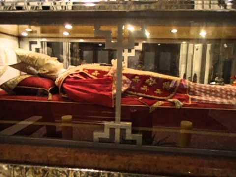 His Eminence Aloysius Stepinac, Cardinal Archbishop of Zagreb - Glass Tomb