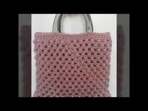 89160c6dc96d Πλεκτή τσάντα - Μέρος 2ο (Μπορντούρα και χερούλια) Art of crochet - by Airis