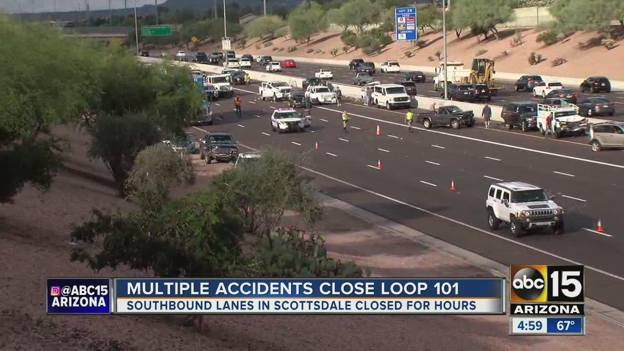 Deadkly crash closes Loop 101 in Scottsdale
