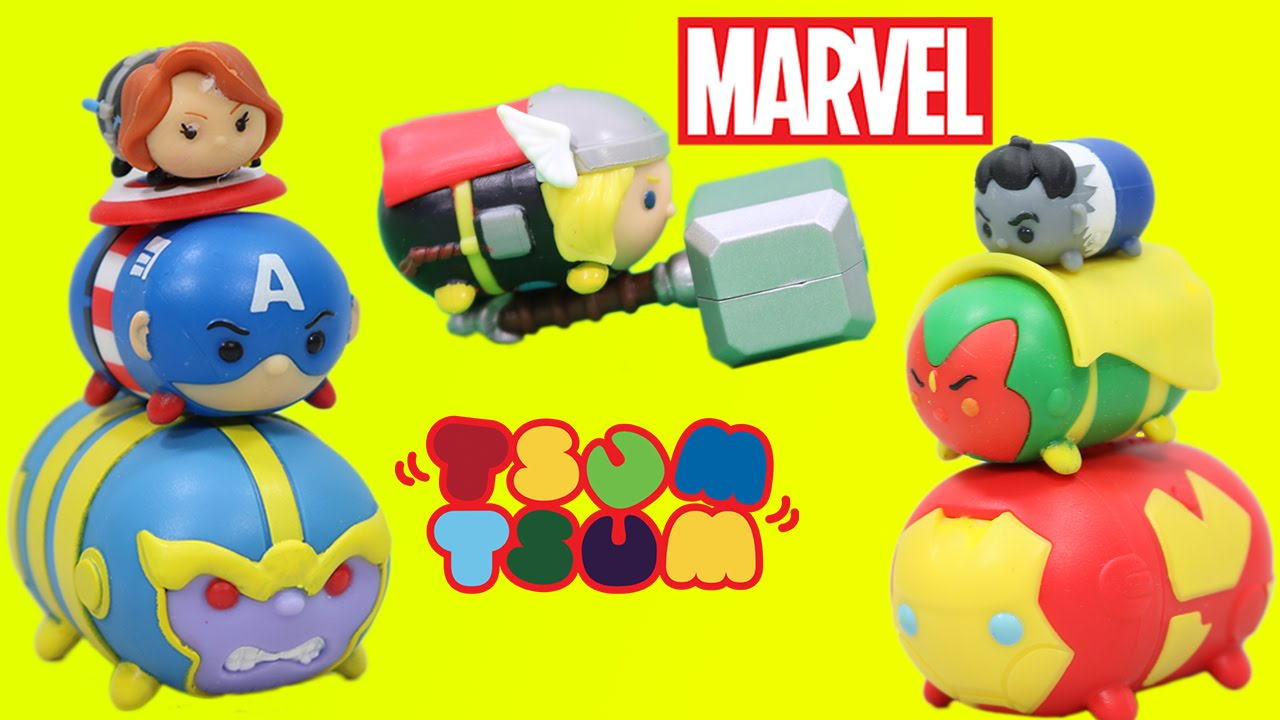 Marvel Tsum Tsum Series 2 Mystery Pack Disney Stackable Figure Red Hulk