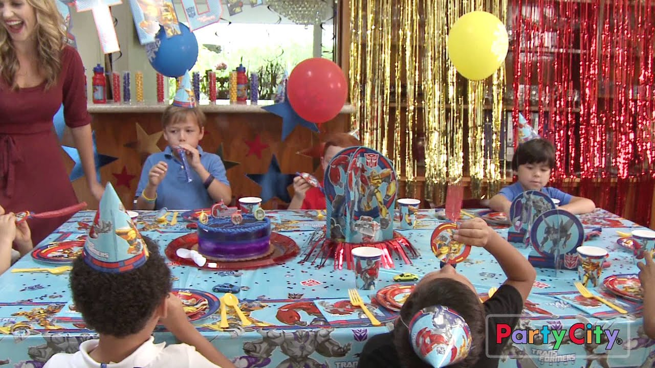 car boy photo ideas - Transformers Party Ideas