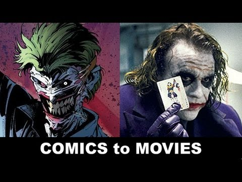 "Heath Ledger is The Joker! From ""Death of the Family"" in Batman to Jack Nicholson & Mark Hamill!"