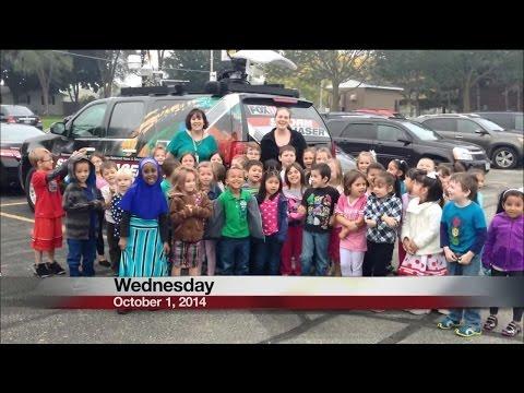 Baird Elementary School K say Good Day Wisconsin