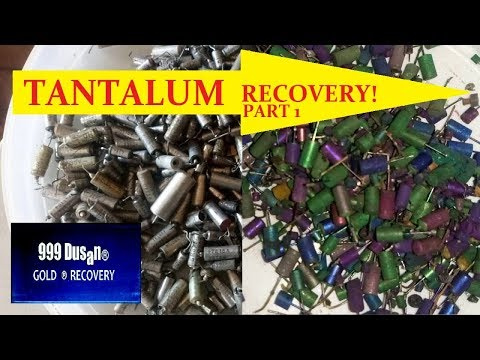 TANTALUM RECOVERY part 1