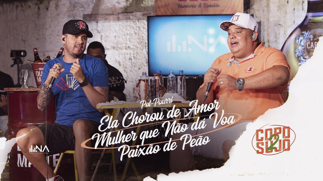 Humberto e Ronaldo - Ela Chorou de Amor / Mulher Que Não Dá Voa / Paixão de Peão  | DVD Copo Sujo 2