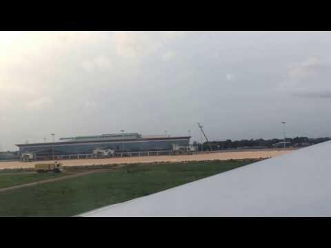 Atterrissage Airbus 330 à Lomé (de Paris CDG)