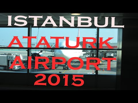 Istanbul Ataturk Airport - Terminal - Turkish Airlines - LTBA