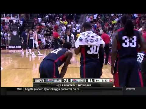 Paul George suffers serious leg injury