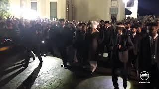 Arrival of Hazrat Mirza Masroor Ahmad (15 Oct 2018) at Baitur Rahman Mosque