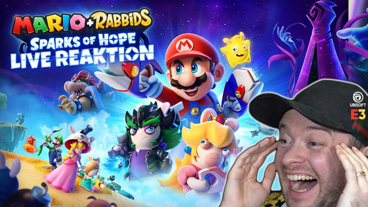 MARIO+RABBIDS: SPARKS OF HOPE Reveal Trailer 🎇 Domtendos Live Reaktion